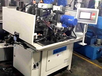 德科精机原厂开发铣扁机/铣扁钻孔开槽专用机床/铣扁钻孔组合机