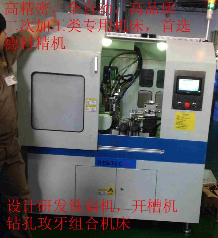 THL-PAR标准双轴精密铣扁机
